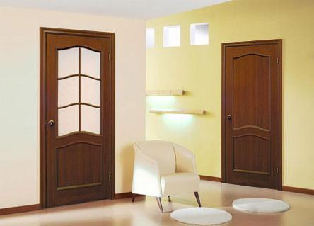 межкомнатная дверь из цельного мдф