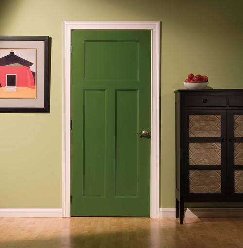 межкомнатная дверь крашеные