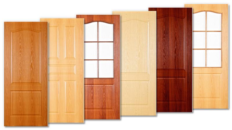межкомнатная дверь ламинат