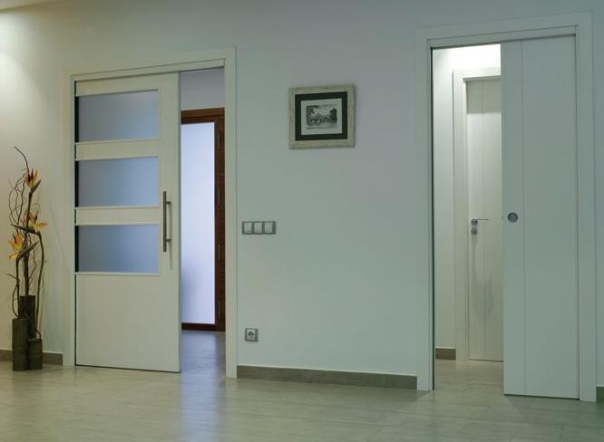межкомнатная дверь сдвижная