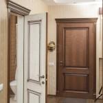межкомнатные двери двухцветные