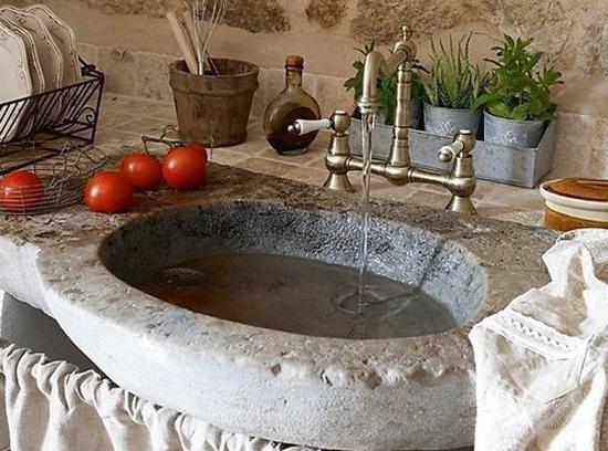 мойка на кухню каменная