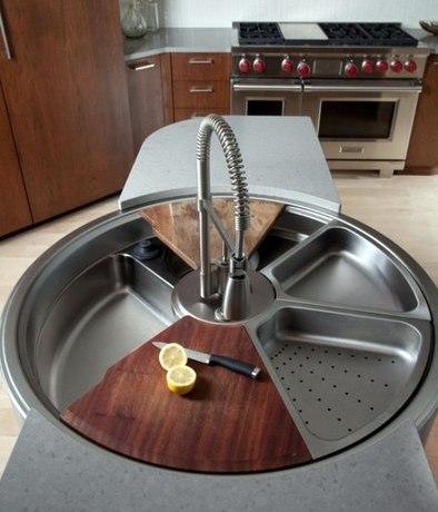 Какую мойку (раковину) выбрать для кухни: материал, конструкция