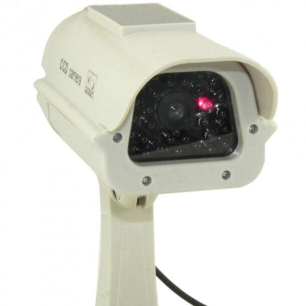 муляж камеры видеонаблюдения с солнечной батареей