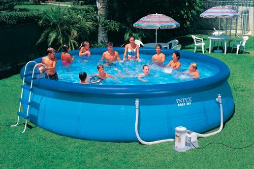надувной бассейн большой