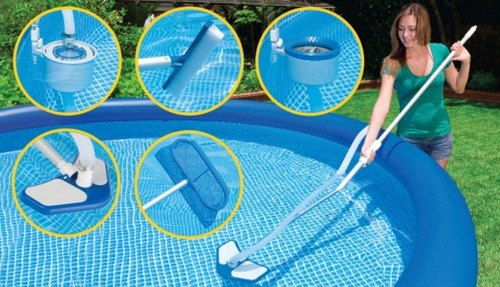 надувной бассейн фильтрация воды
