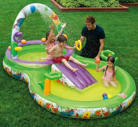 Выбор и покупка надувного бассейна для дачи