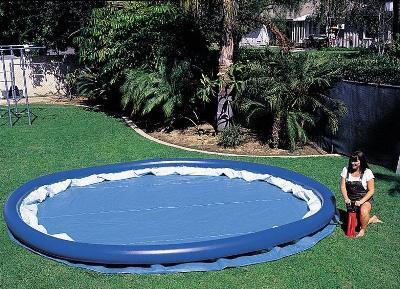 надувной бассейн установка 2