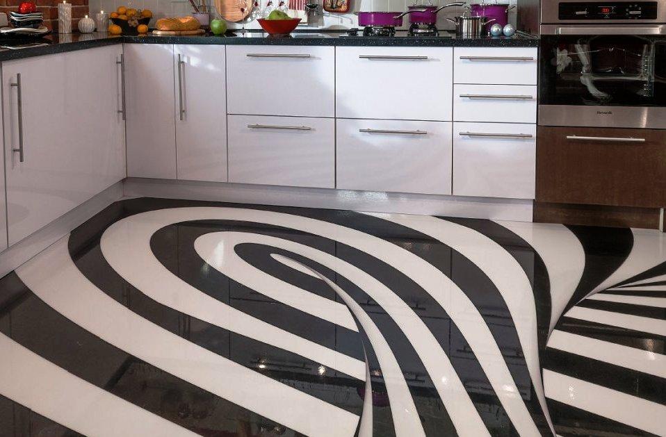 10 материалов для отделки полов на кухне