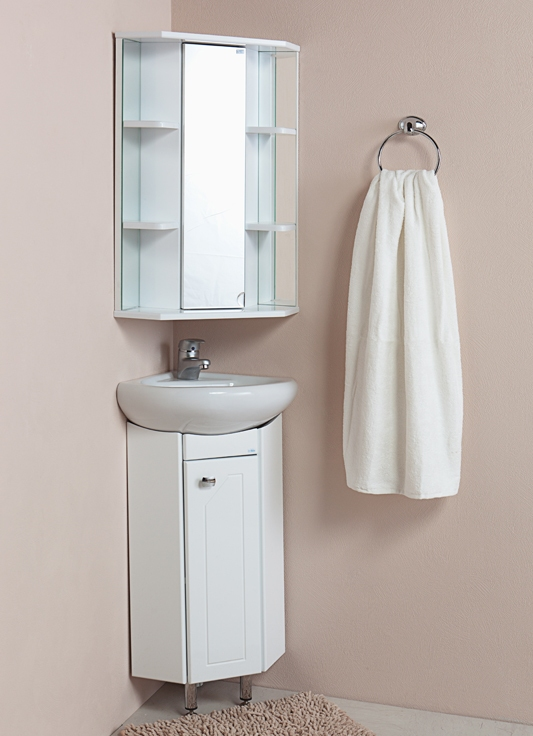 навесной шкаф в ванную комнату 3