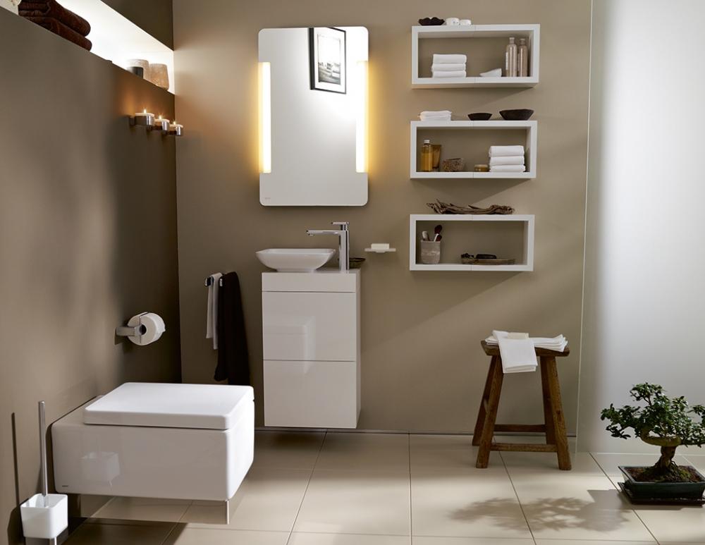 Навесные шкафы для ванной