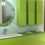 навесной шкаф в ванную цвет 2