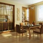 обеденный стол интерьер  4
