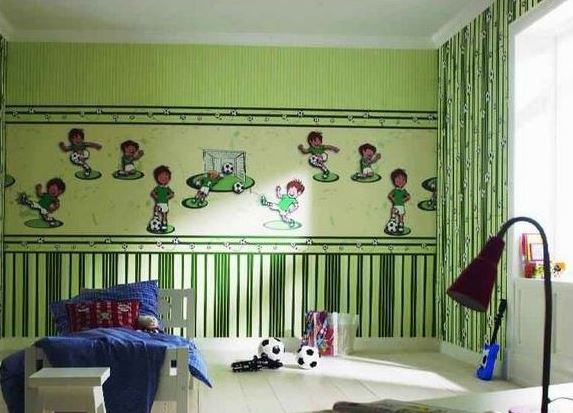 Выбираем обои в детскую комнату: материал, цвет, рисунок
