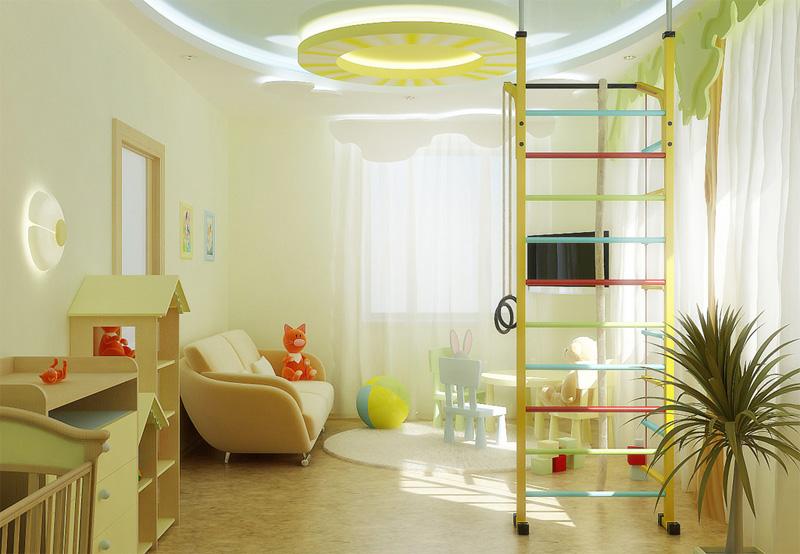 общее освещение детской 4