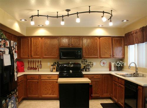 общее освещение кухни 2