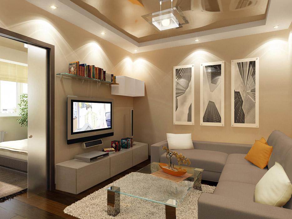 общий свет в гостиной 2