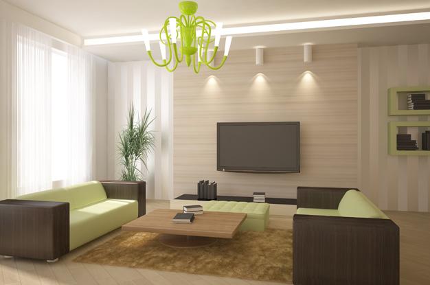 общий свет в гостиной 3