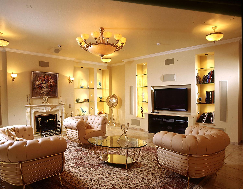 общий свет в гостиной 4