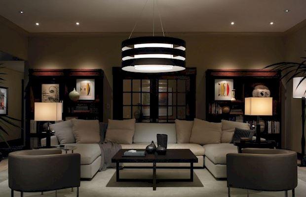общий свет в гостиной