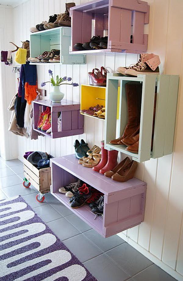 обувница интересные идеи