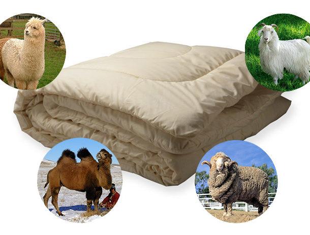Натуральные наполнители одеял