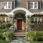7 советов по дизайну и оформлению крыльца частного дома фото