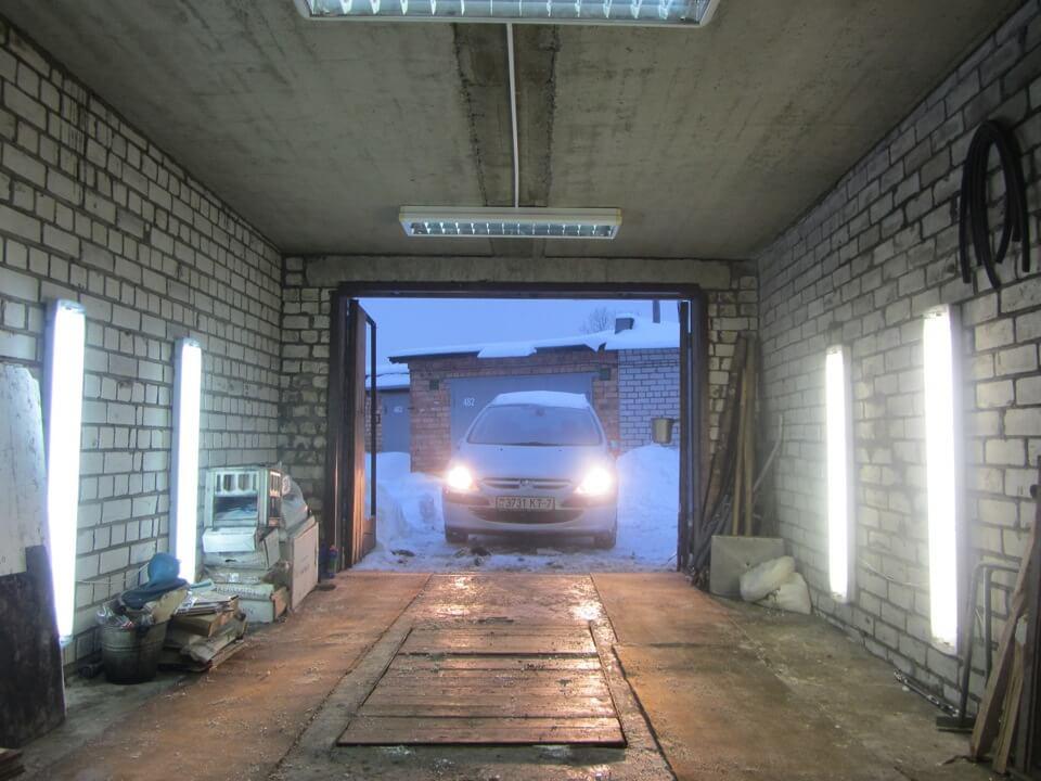 6 советов по организации освещения в гараже