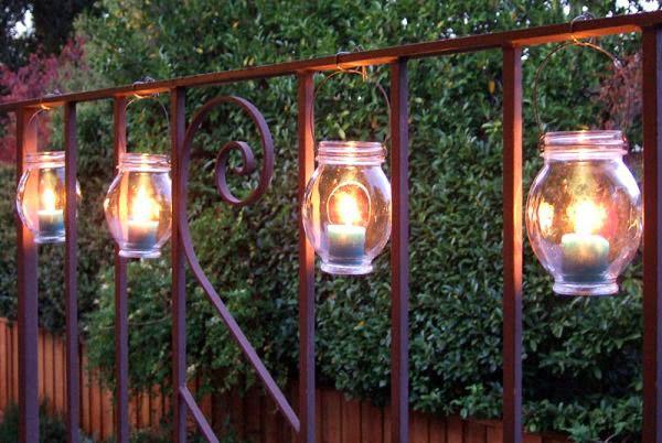 освещение балкона 16