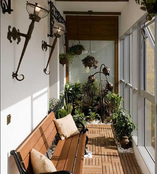 освещение балкона 8