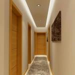 освещение длинного коридора 2
