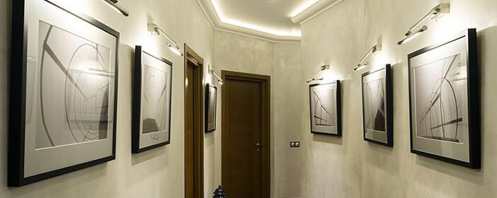 освещение коридора локальное освещение