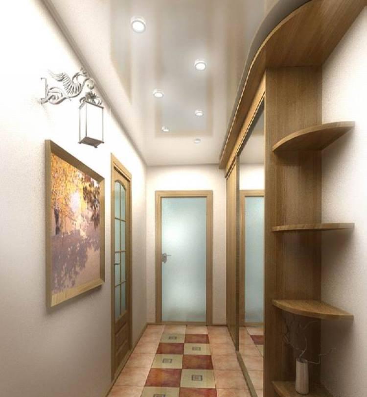 освещение коридора основной свет 3