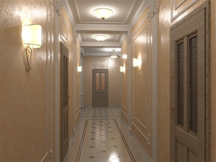 освещение коридора основной свет