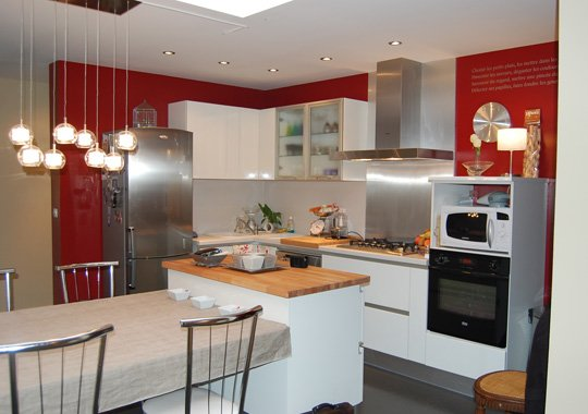 освещение кухни 2