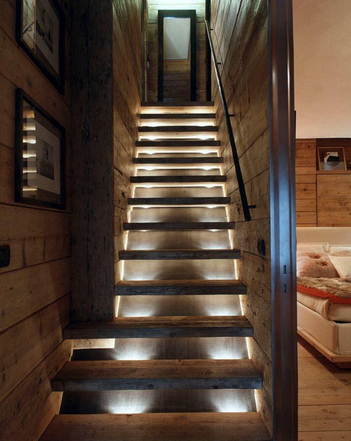 подарки фото лестниц с подсветкой в доме помехи, создаваемые линией