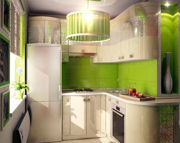 освещение маленькой кухни 2