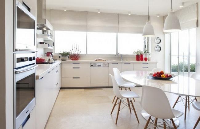 освещение обеденной зоны кухни