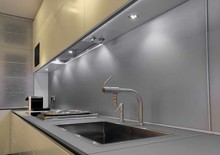 освещение рабочей зоны кухни 2