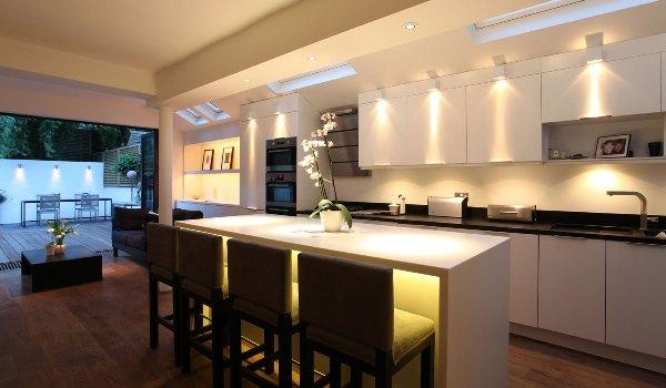 освещение рабочей зоны кухни 3