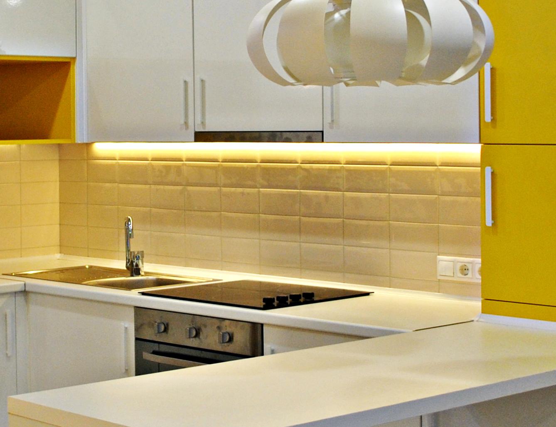 освещение рабочей зоны кухни 4