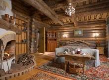 отделка старых деревянных стен