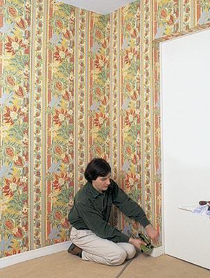 отделка стен тканью 7