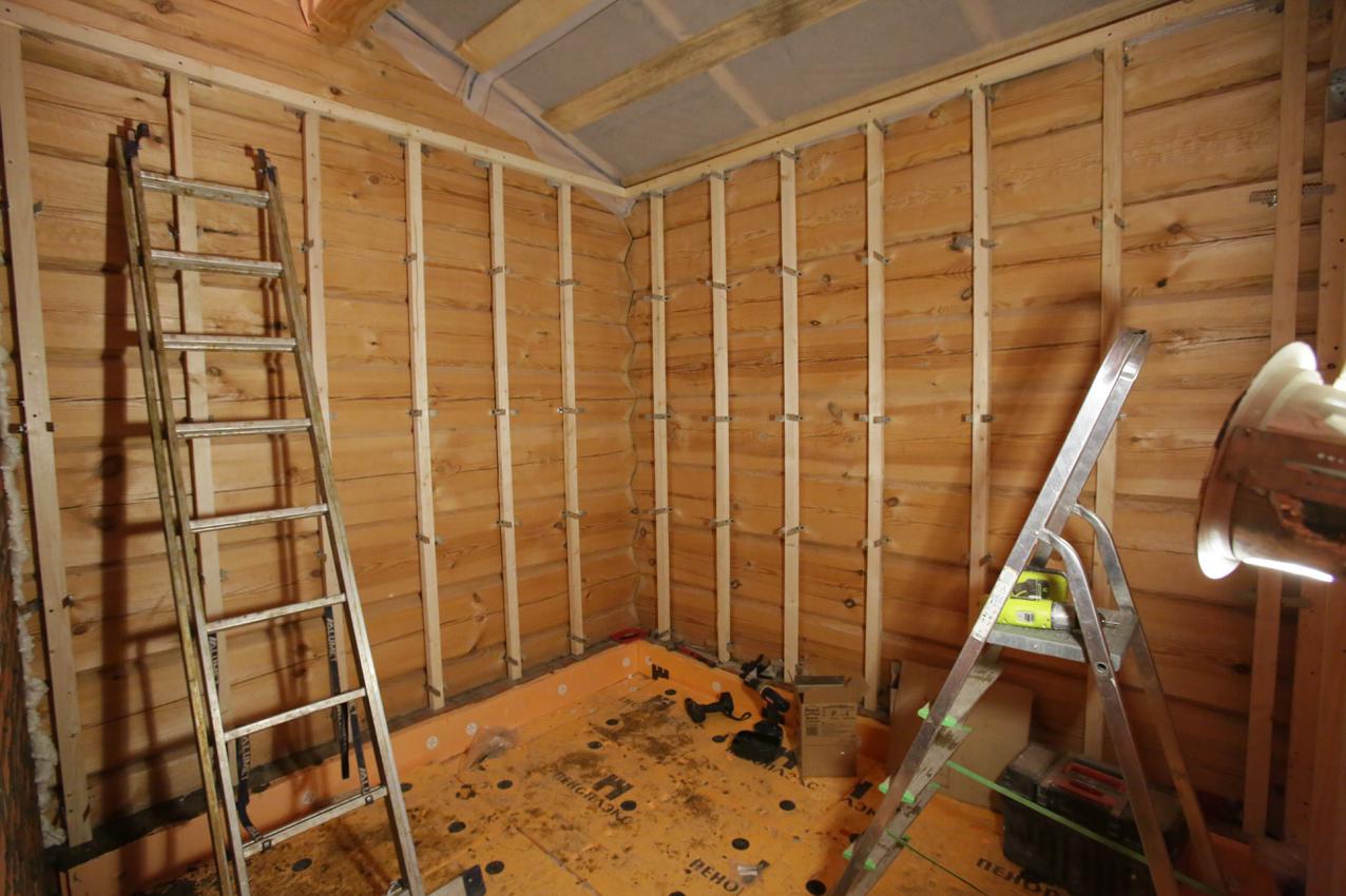 отделка вагонкой деревянных стен 5