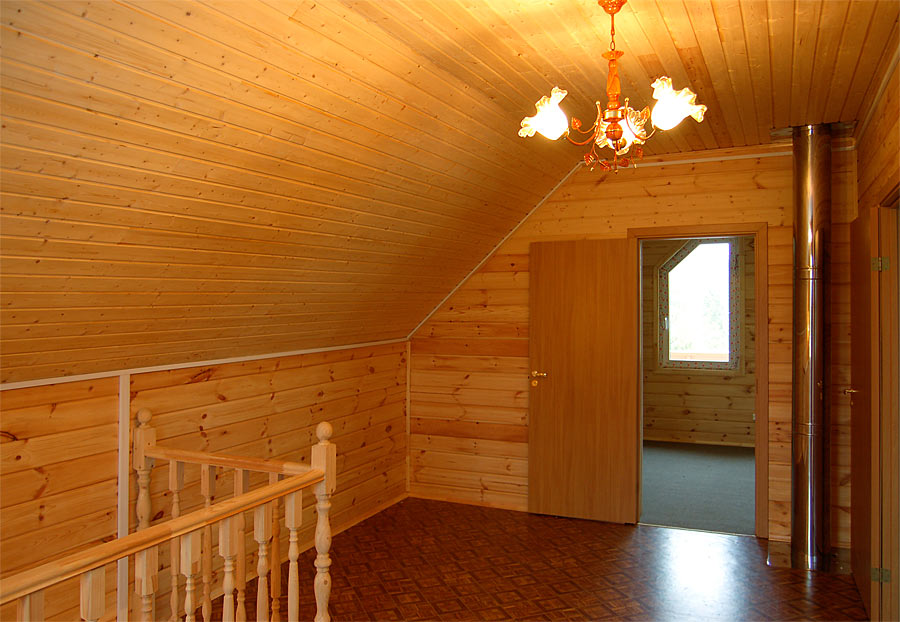 отделка вагонкой деревянных стен 6
