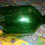 пальма из пластиковых бутылок на дачу  2