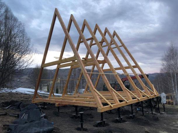 Первые конструкции в реализации проекта компании «Экокомплект»