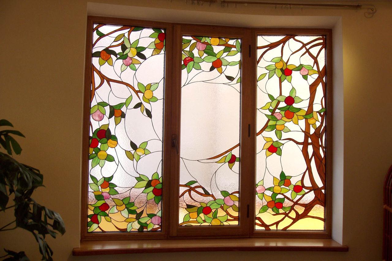 пластиковое окно дизайн 4