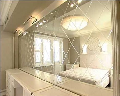 плитка для ванной зеркальная