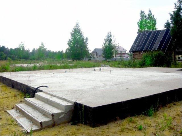 плитный фундамент под частный дом
